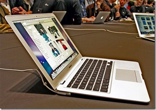 New MacBook Airs with Thunderbolt and Sandy Bridge to be launched in June-July