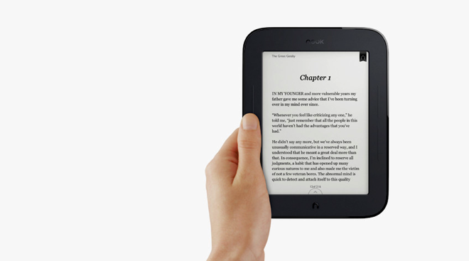 New Nook has 2 month battery, improved page turns and social features for $139