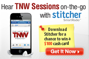 stitcher affiliate TNW 300x200 v2 TNW Sessions: ACTA, Anonymous and bad Internet behavior [Podcast]