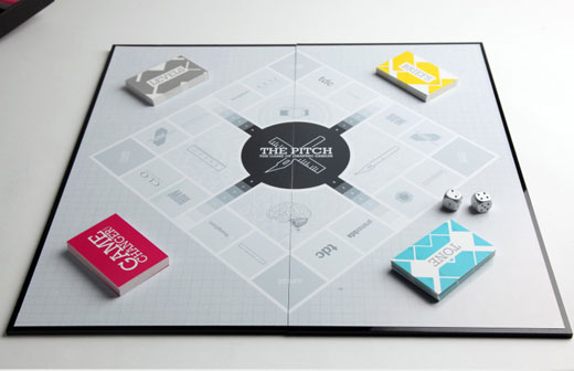 The Pitch A Concept Board Game For Graphic Designers - Board game design