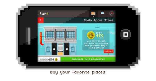 tumblr ljvuqtWXtx1qiw495o1 500 Gamification? No thanks. Turf is a location based app for actual gamers.