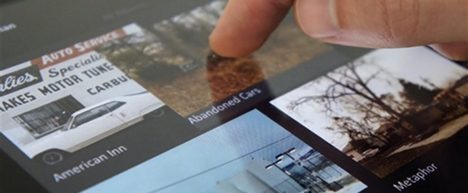 Showcase your design talent on the go with Viewbook's beautiful iPad app