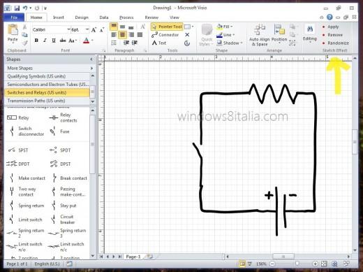 visio sketch 520x389 New Office 15 screenshots leak