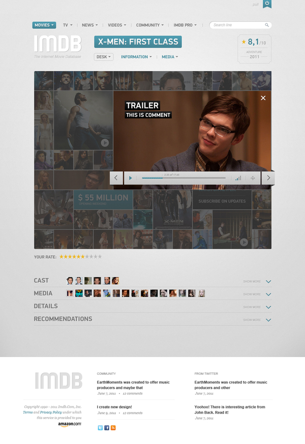 005 Heres what a redesigned IMDB might look like