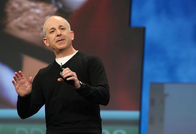 Microsoft shows off Windows 8's tablet UI