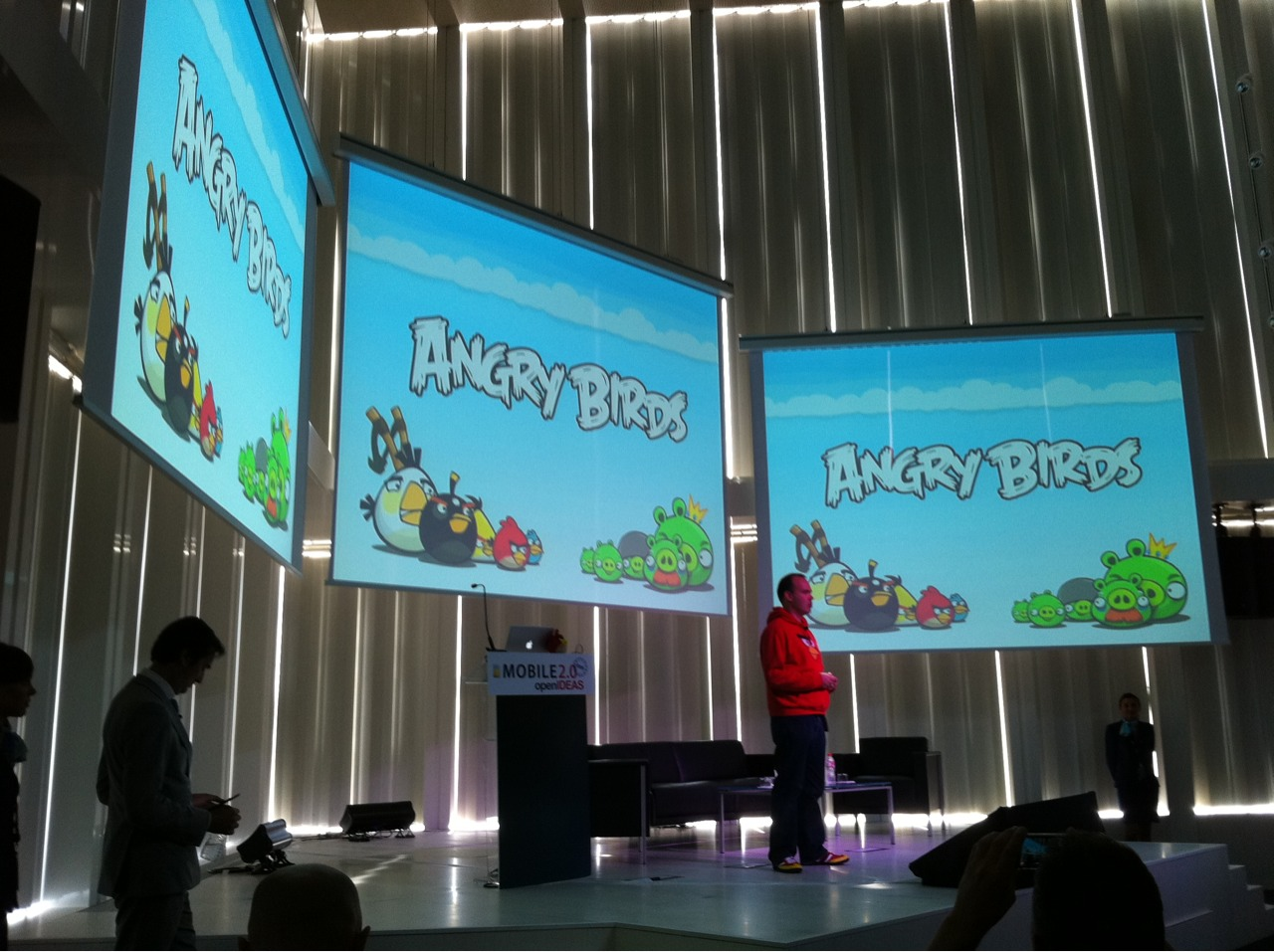 Angry Birds now downloaded more than a million times a day