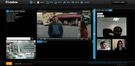 4. Screenshot Social Slider 520x253 Lutebox: a social entertainment hub for premium content
