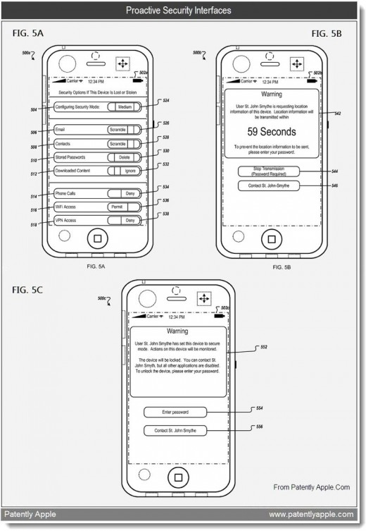 6a0120a5580826970c01538f3a42e0970b 800wi 520x753 New Apple patent wants to give you James Bonds Find my iPhone features