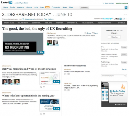 9 520x469 Starting today, theres a lot more SlideShare in your LinkedIn