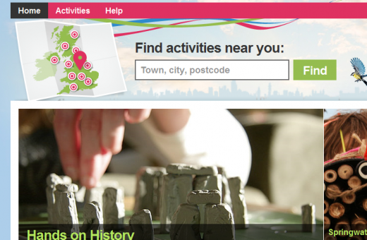 BBC Things To Do Homepage 13073690360201 520x340 Things To Do lets you search BBC activities in your area