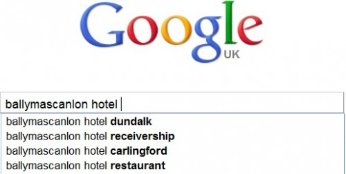 BallymascanlonHotelReceicership 500x252 Irish hotel sues Google over Autocomplete suggestion