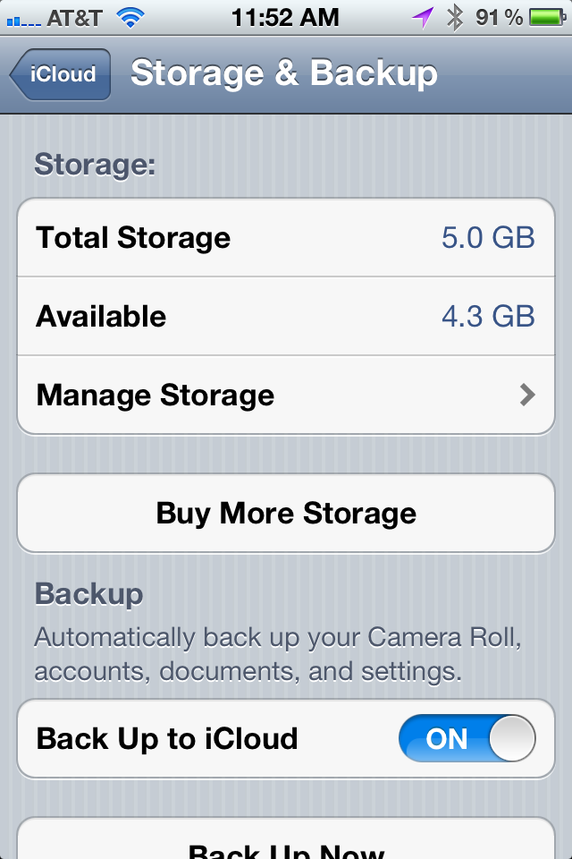 If You Use Up Your ICloud Storage, You'll Stop Getting
