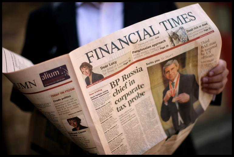 Financial Times web app closes in on 200,000 downloads