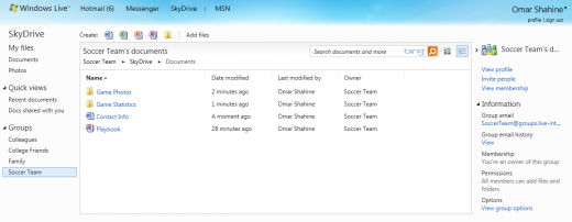 Groups 520x202 Microsoft releases massive SkyDrive improvements