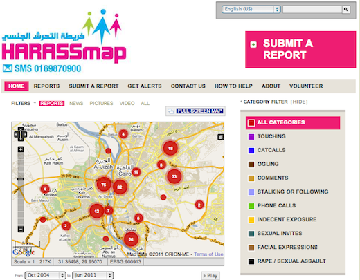 HarassMap HarassMap puts the spotlight on sexual harassment