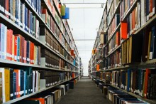 Library Bookshelves Greg Hinsdale Corbis 220x146 Facebook Profile Management: Whos really in control?