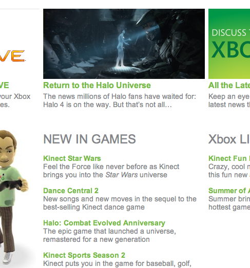 MSE3Ballsup Microsofts E3 website accidentally confirms Halo 4 is on the way