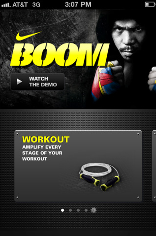Nike BOOM for iPhone iPod touch and iPad on the iTunes App Store 1307091603889 8 great apps to stay fit, healthy...and alive