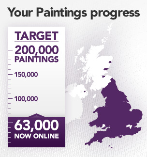 PaintingTarget The BBC Your Paintings project aims to bring every UK oil painting online
