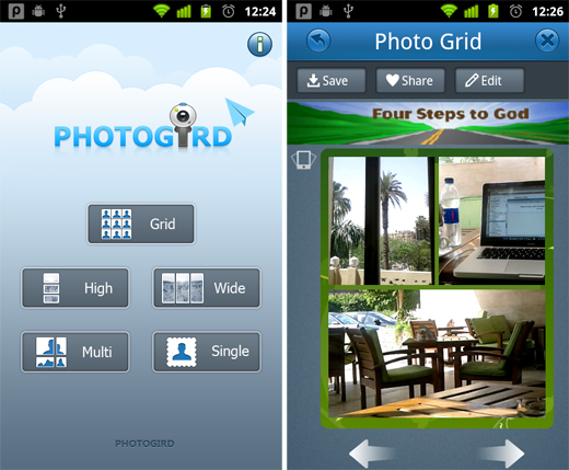 PhotoGrid 5 free must have Android apps for photographers