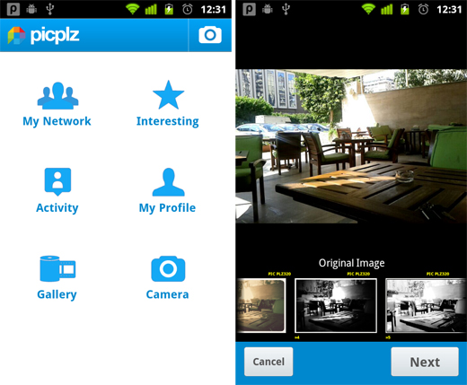 PicPlz 5 free must have Android apps for photographers