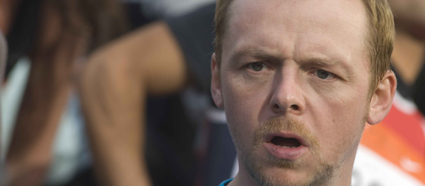 Actor Simon Pegg claims Twitter account hacked. Spreads malware to 1.2 million followers.