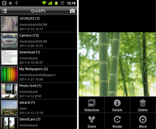 QuickPic 5 free must have Android apps for photographers