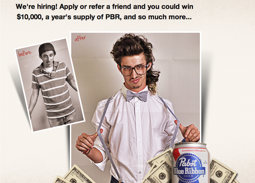 Apply for the Ultimate Hipster Job