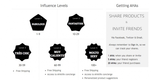 Screen shot 2011 06 02 at 7.42.45 PM 520x276 AHAlife adds curation and social influence to sell luxury goods