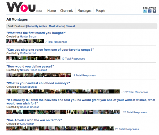 Screen shot 2011 06 03 at 10.07.46 AM 520x442 VYou launches Montages, like Quora for video