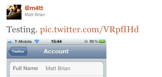 Screen shot 2011 06 07 at 16.19.52 iOS 5 First Look: Twitter Integration