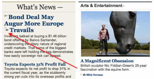 Screen shot 2011 06 10 at 14.47.25 500x258 Get behind the Wall Street Journal paywall for free with a single click