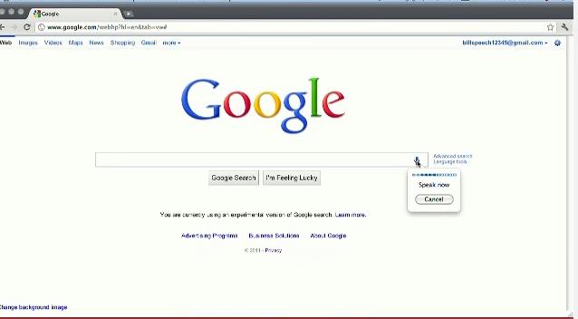 Google Announces Voice Search For Desktop Google