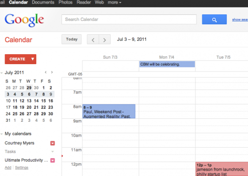 Screen shot 2011 06 29 at 11.39.10 AM 500x354 Google Calendar and Maps get a fresh new look... more makeovers on the way.