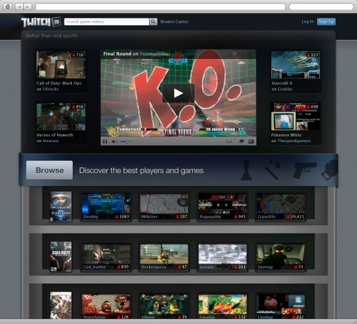 ScreenShot 520x472 TwitchTV: Justin.tvs killer new esports project