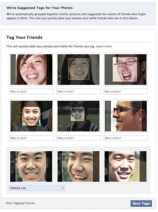 SuggestedTags 520x697 Facebook rolls out facial recognition tool in most countries