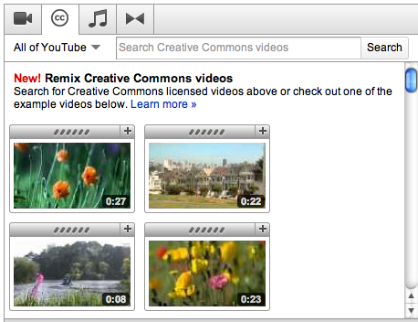 YouTube1 Does Creative Commons make us more creative?