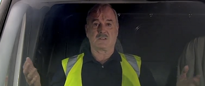 Why do we honk our horns in traffic jams? John Cleese and TomTom nail it.