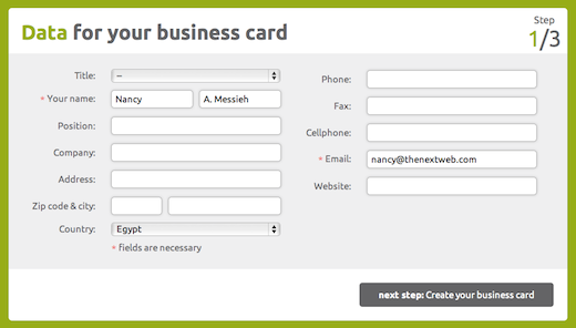 design1 Digitize your business card with Ucardo [Invites]