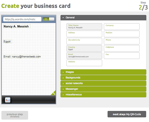 design2 Digitize your business card with Ucardo [Invites]