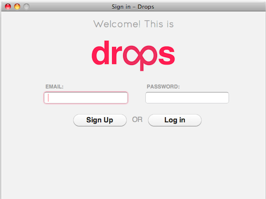 Drops: Quick and Easy File Sharing with Unlimited Storage