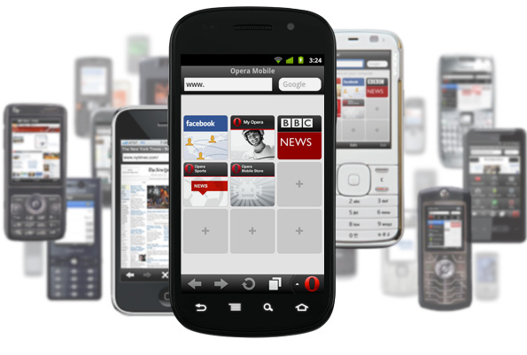 Opera's mobile apps get search suggestions, domain learning features