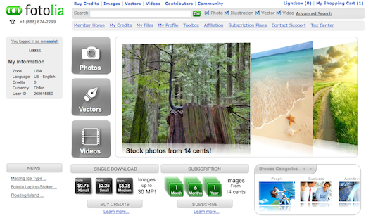 fotolia1 Is Fotolia the webs best stock photography site? We find out.