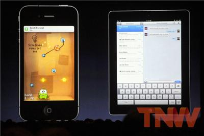 iMessage iOS 5 introduced. iPhones finally get great notifications.