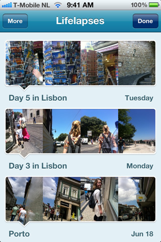 Create a timelapse photo record of your day with Lifelapse for iPhone