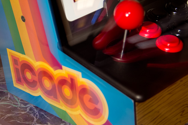 The iCade takes me back to a time when quarters were like gold