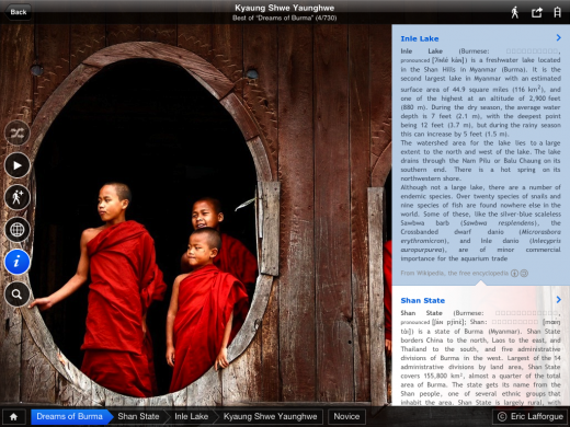 infopane 520x390 National Geographic Traveler launches a beautiful new app