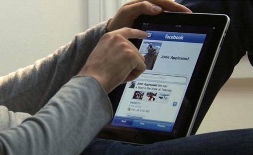 ipad facebook large 520x319 Something awesome coming from Facebook next week. Could it be an iPad app?