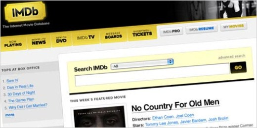 Here's what a redesigned IMDB might look like