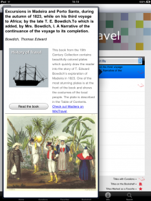photo 4 220x293 Explore historical books on the iPad with the British Librarys new app